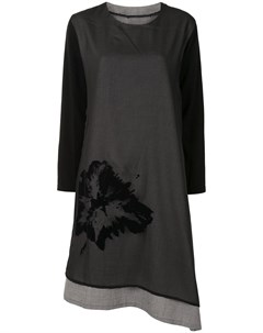Многослойное платье асимметричного кроя Y's