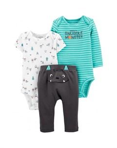 Комплект для мальчика брюки боди 2 шт 1J622410 Carter`s