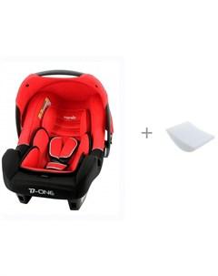 Автокресло Beone SP LX Luxe с вкладышем для горизонтального положения в автокресло Автомалыш Nania