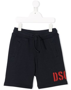шорты с логотипом Dsquared2 kids