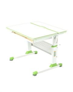 Парта трансформер Comfort 80 цвет белый белый зелёный Rifforma