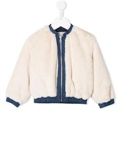 куртка Constance с искусственным мехом Knot
