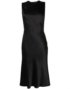 приталенное платье с кружевом Ermanno scervino