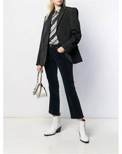 Расклешенные джинсы с бахромой Fay