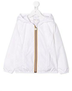 куртка с контрастной молнией K way kids