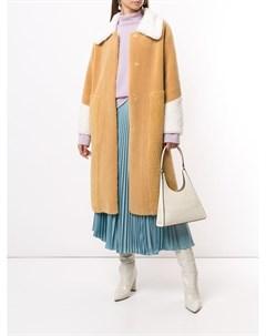 Пальто из искусственной овчины Unreal fur