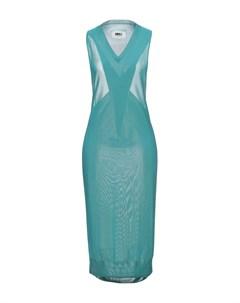 Платье длиной 3 4 Mm6 maison margiela