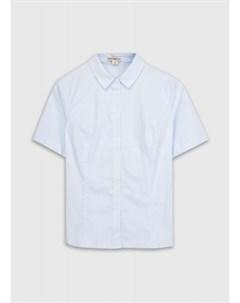 Хлопковая блузка полуприлегающего силуэта Ostin