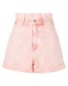 джинсовые шорты с эффектом потертости Stella mccartney