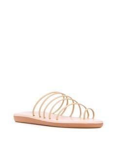 Сандалии Sani на плоской подошве Ancient greek sandals