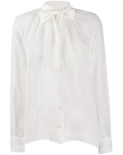 блузка с бантом Dolce&gabbana
