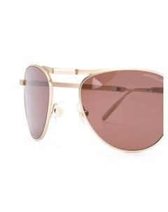 солнцезащитные очки авиаторы Montblanc