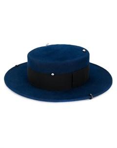 декорированная шляпа канотье Ruslan baginskiy