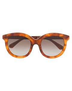 солнцезащитные очки Lillian в оправе черепаховой расцветки Kate spade