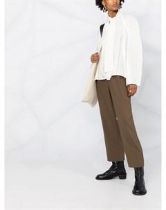 блузка свободного кроя с бантом Lemaire