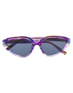 солнцезащитные очки с абстрактным принтом Missoni