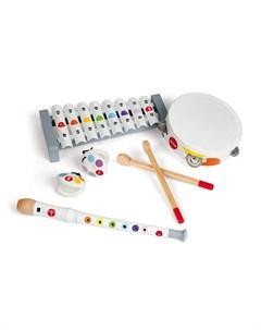 Набор белых музыкальных инструментов Janod