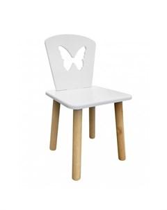 Детский стул Бабочка натуральный корпус Русэкомебель