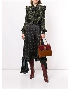 Блузка с завязками и оборками Preen by thornton bregazzi