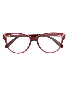 Очки в оправе кошачий глаз Salvatore ferragamo eyewear