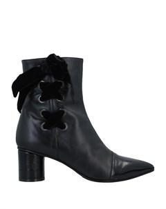 Полусапоги и высокие ботинки La blanc