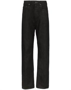 вощеные джинсы Rick owens