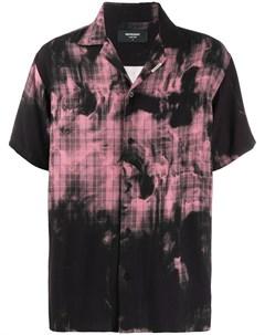 клетчатая рубашка с принтом тай дай Represent