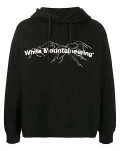 Худи с логотипом White mountaineering