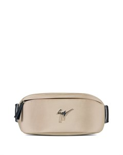 Поясная сумка с металлическим логотипом Giuseppe zanotti