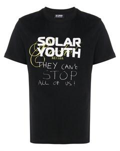 Футболка с принтом Solar Youth Raf simons