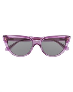 затемненные солнцезащитные очки в оправе кошачий глаз Kate spade
