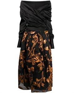 Платье Zaki с открытыми плечами Sara roka