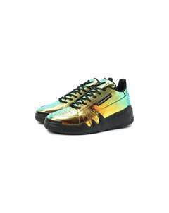 Кожаные кроссовки Giuseppe zanotti design