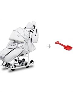 Санки коляска Arctic с лопатой Нордпласт Евролайн Pikate