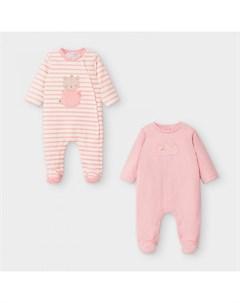 Newborn Полукомбинезон для девочки 2 шт 2757 Mayoral
