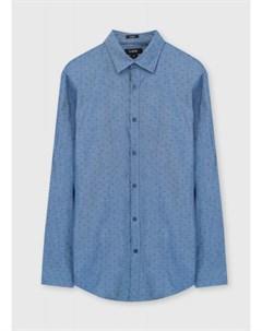 Принтованная рубашка из хлопка Oxford Ostin