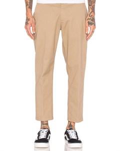 Брюки Straggler Flooded Pants Khaki 2020 Obey