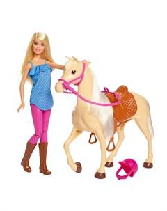Кукла и лошадь Barbie