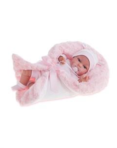 Кукла Antonio Juan Вита в розовом озвученная детский лепет 34см Antonio juan munecas