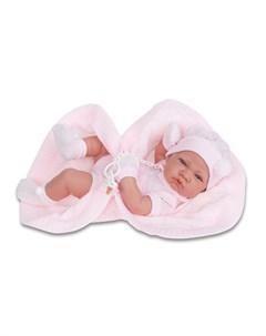 Кукла младенец Antonio Juan Тони девочка в розовом 42см Antonio juan munecas