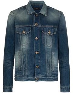 Джинсовая куртка с вышивкой Alanui