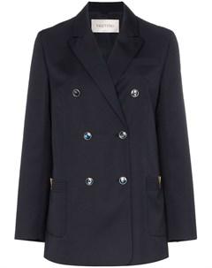 двубортный пиджак Valentino