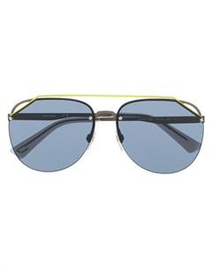 солнцезащитные очки с затемненными линзами Diesel