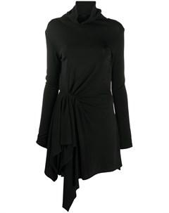Платье мини асимметричного кроя Ssheena