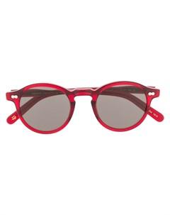 солнцезащитные очки Miltzen в круглой оправе Moscot