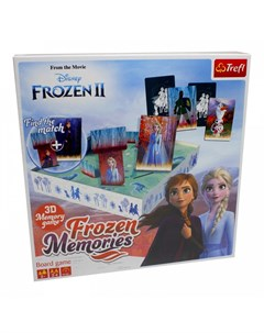 Настольная игра Memories 3D Холодное сердце 2 Trefl