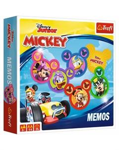 Настольная игра Мемос Mickey RR Trefl