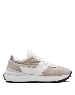 кроссовки в стиле колор блок Car shoe