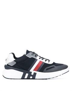 кроссовки с контрастными полосками Tommy hilfiger