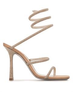 Босоножки Cleo на высоком каблуке Rene caovilla
